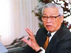Cựu Thủ tướng Việt Nam Võ Văn Kiệt trong một lần trả lời phỏng vấn báo chí. RFA file photo