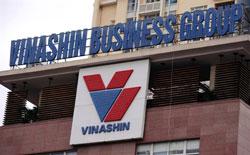 Trụ sở Tập đoàn Vinashin tại Hà Nội. AFP PHOTO.