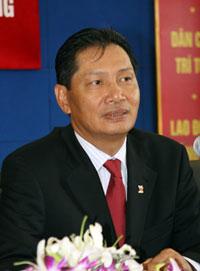 Chủ tịch Hội đồng Quản trị Vinashin Phạm Thanh Bình. Photo courtesy of VietNamNet