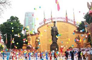 Lễ khai mạc Đại Lễ 1.000 năm Thăng Long - Hà Nội.